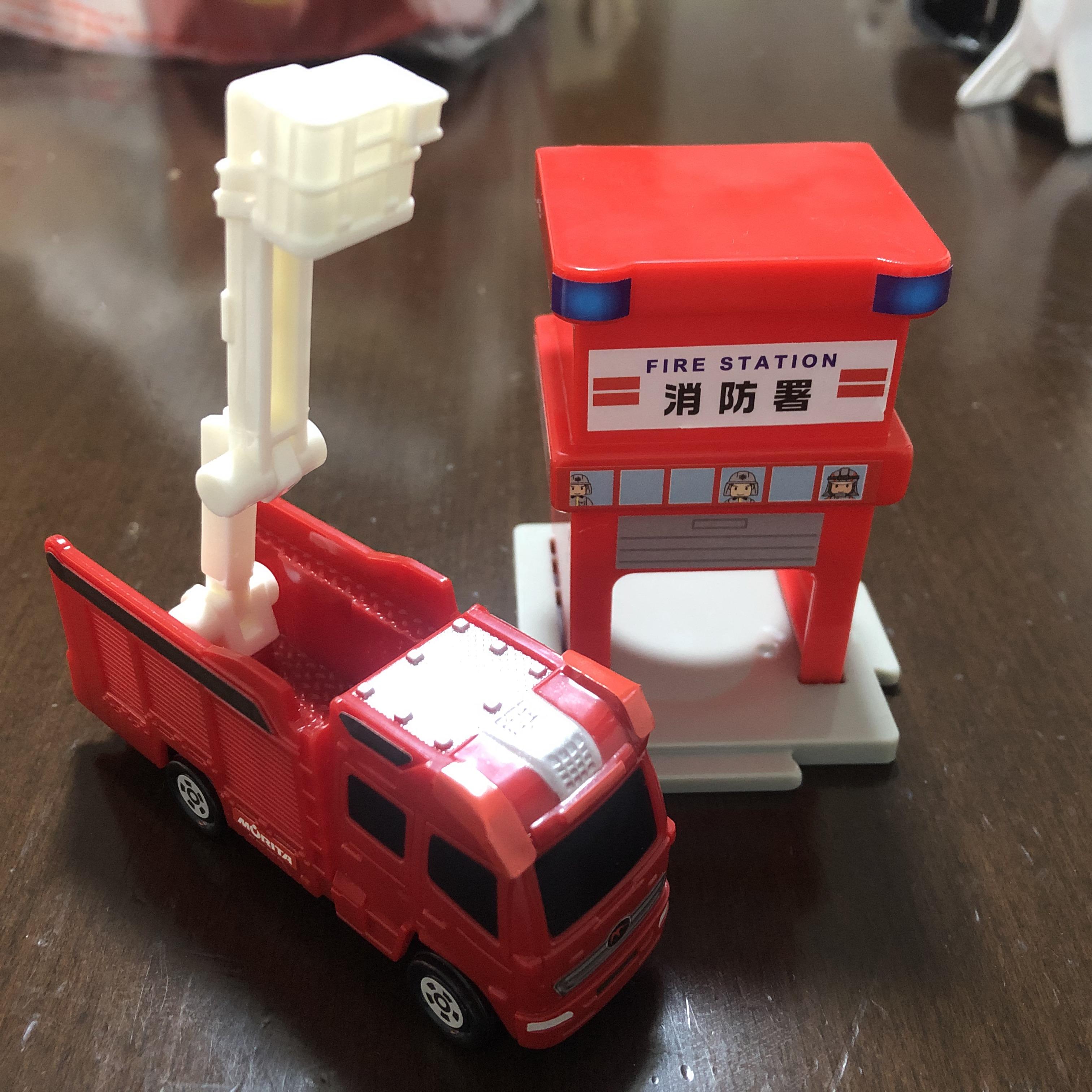 ハッピーセットのトミカ 消防車
